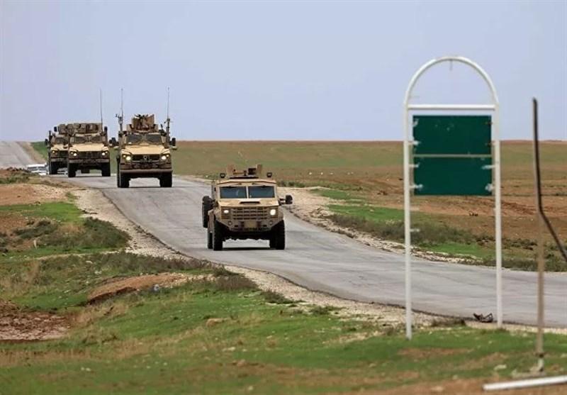 گشت مشترک نیروهای نظامی روسیه و ترکیه در حسکه