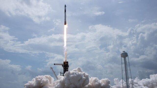 آمریکا پس از 9 سال فضاپیمای سرنشین دار به فضا فرستاد