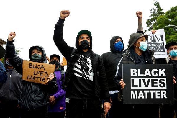 مرگ یک جوان سیاهپوست به دست نیروهای پلیس در آتلانتای آمریکا