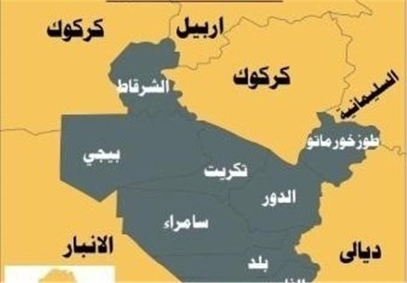 حشد شعبی حمله تروریستی داعش به جنوب سامرا را خنثی کرد